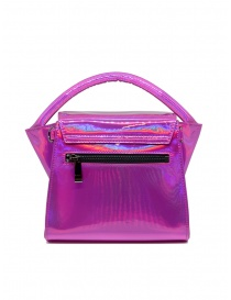 Zucca Small Buckle laminated pink bag price