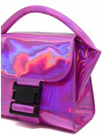 Zucca Small Buckle laminated pink bag bags buy online