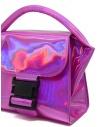Borsa Zucca Small Buckle rosa laminato ZU99AG263 PINK acquista online