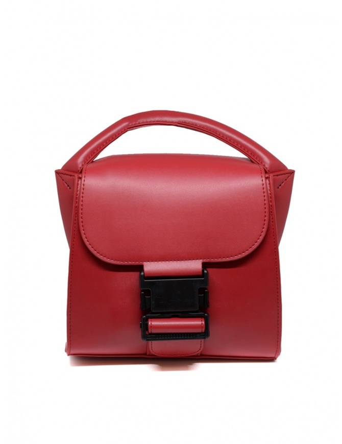 Borsa Zucca Small Buckle rossa ZU99AG272 RED borse online shopping