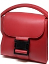 Borsa Zucca Small Buckle rossa ZU99AG272 RED acquista online