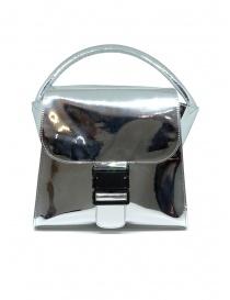 Borsa Zucca con fibbia colore argento online