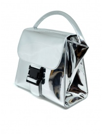 Zucca silver bag with buckle