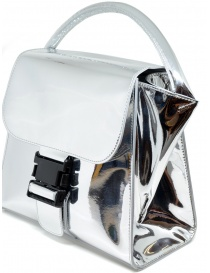 Zucca silver bag with buckle bags buy online