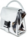Zucca silver bag with buckle ZU99AG262 SILVER buy online