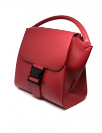 Zucca red bag with buckle
