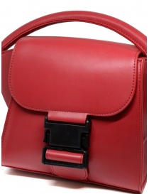 Zucca red bag with buckle bags buy online