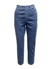 Jeans Zucca a vita alta ZU97FF016-33 DENIM order online