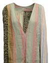 Kapital linen and cotton pastel patchwork dress K1904OP120 PASTEL price