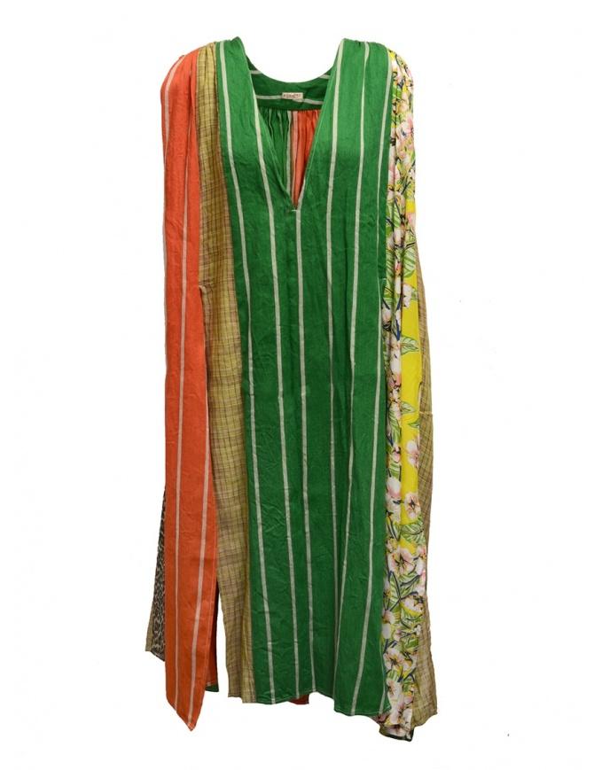 Abito Kapital patchwork multicolore K1904OP120 LST abiti donna online shopping
