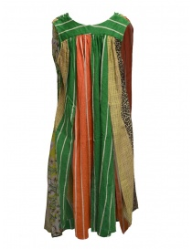 Kapital multicolor patchwork dress