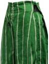 Kapital green striped cropped trousers price K1905LP189 GREEN shop online