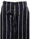 Kapital navy striped cropped trousers K1905LP189 NAVY buy online