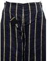 Pantaloni Kapital cropped blu navy a strisce K1905LP189 NAVY acquista online