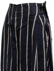 Kapital navy striped cropped trousers womens trousers price