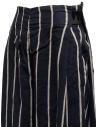 Pantaloni Kapital cropped blu navy a strisce prezzo K1905LP189 NAVYshop online