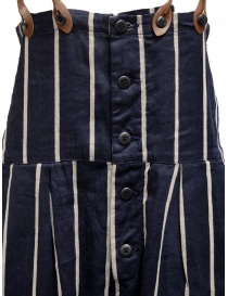 Kapital navy blue striped dungarees price