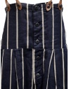 Kapital navy blue striped dungarees K1905OP191 NAVY price