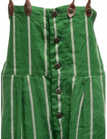 Kapital green striped dungarees price
