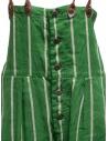 Salopette Kapital verde a righe K1905OP191 GREEN prezzo