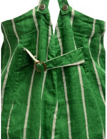 Kapital green striped dungarees womens trousers buy online