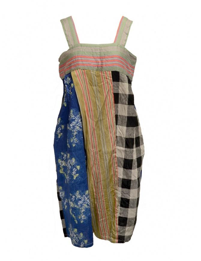 Kapital multicolor patchwork salopette K1905OP182 COLORFUL womens trousers online shopping