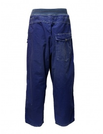Kapital blue trousers with buckle price
