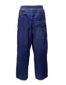 Pantaloni Kapital blu con fibbia prezzo
