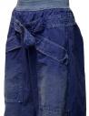 Pantaloni Kapital blu con fibbia prezzo K1904LP130 BLUEshop online