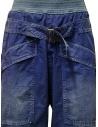 Pantaloni Kapital blu con fibbia K1904LP130 BLUE acquista online