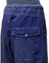 Kapital blue trousers with buckle price K1904LP130 BLUE shop online