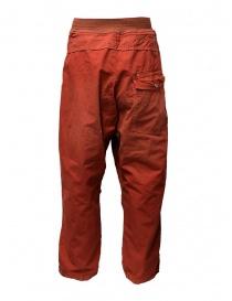 Pantaloni Kapital rossi con fibbia prezzo