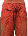 Pantaloni Kapital rossi con fibbia K1904LP130 RED acquista online