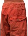 Pantaloni Kapital rossi con fibbia prezzo K1904LP130 REDshop online