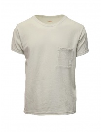 Kapital cream t-shirt with small pocket online