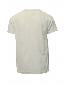 T-shirt Kapital color crema con taschino