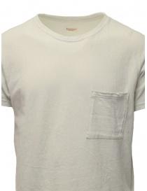 T-shirt Kapital color crema con taschino prezzo
