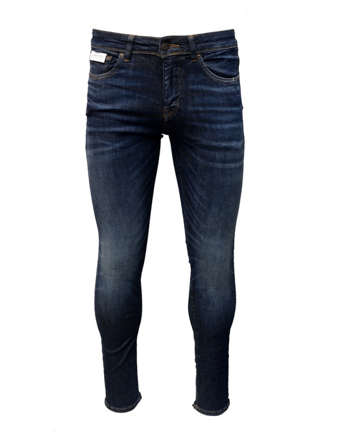 Denim slim Selected Homme blu scuro 16069649 DARK BLUE DENIM jeans uomo online shopping