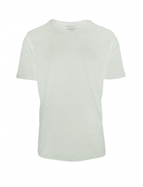 T-shirt Selected Homme bianco luminoso liscia online