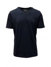 T-shirt Selected Homme blu scuro zaffiro liscia online