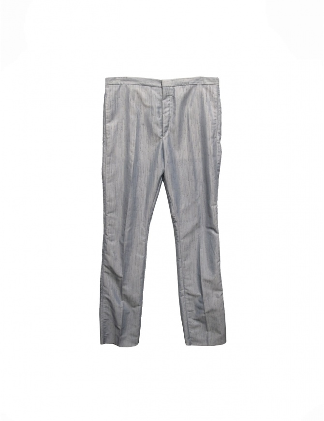 Carol Christian Poell light gray trousers PM/2104 STRI mens trousers online shopping