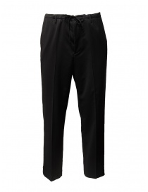 Pantaloni Golden Goose Deluxe Brand in lana nera G27U508.A1 order online