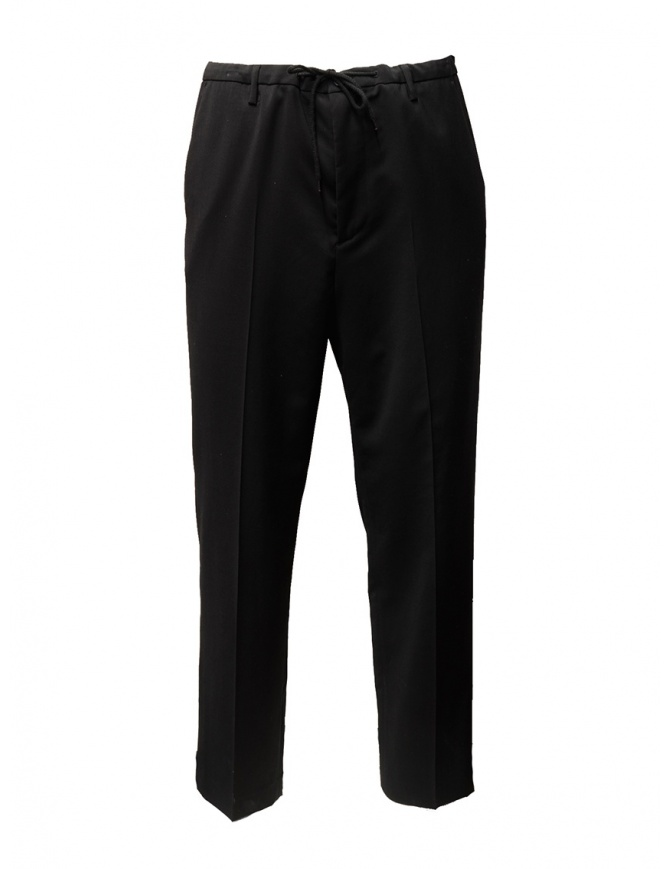 Golden Goose Deluxe Brand black wool trousers G27U508.A1 mens trousers online shopping
