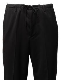 Pantaloni Golden Goose Deluxe Brand in lana nera