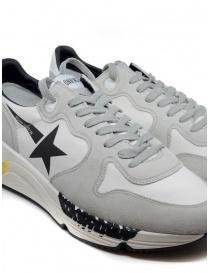 Golden Goose Running bianche e grigie con stella nera calzature uomo acquista online