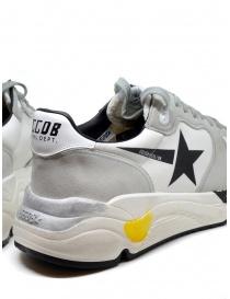 Golden Goose Running bianche e grigie con stella nera calzature uomo prezzo