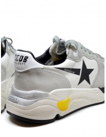 Golden Goose Running white and grey sneakers with black star mens shoes price