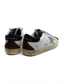 Golden Goose Superstar in white brown with ice grey star price