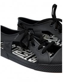 Melissa + Vivienne Westwood Anglomania black sneaker for man mens shoes buy online