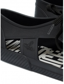 Melissa + Vivienne Westwood Anglomania black sneaker for man mens shoes price